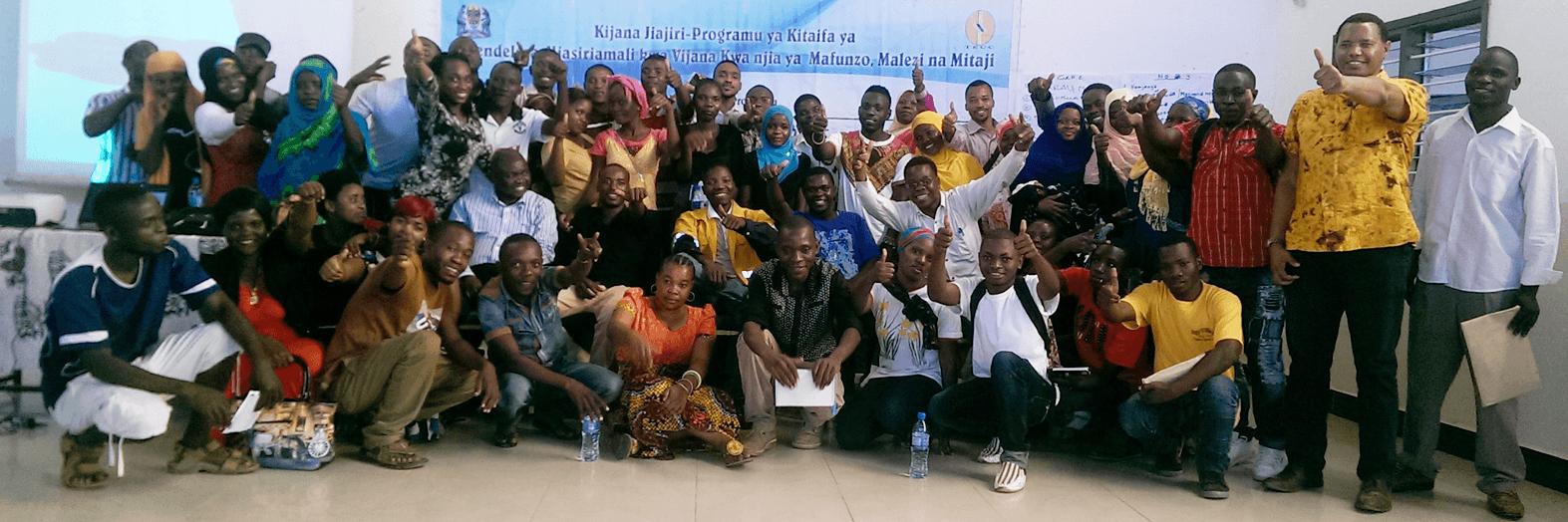 Mentees in Tanzania KJ